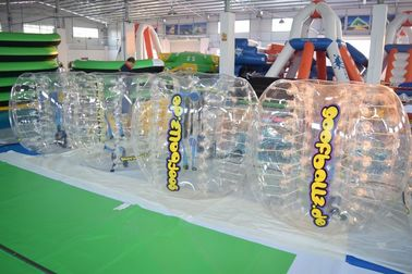 ประเทศจีน Adult Sized TPU Inflatable Bumper Ball For Bubble Football Court โรงงาน