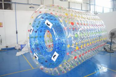 ประเทศจีน 2.8m Long Water Roller Ball , Inflatable Roller For Lake Or Swimming Pool โรงงาน