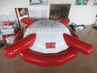 Commercial Tarpaulin พีวีซีเกรดพาณิชย์ Inflatable Saturn Rocker for Water Games