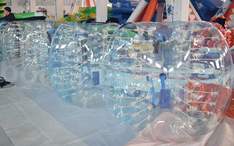 ประเทศจีน Durable TPU Inflatable Human Soccer Bubble / Buddy Bumper Ball For Adults โรงงาน