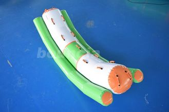 ประเทศจีน Inflatable Water Totter Used In Water Park Or Swimming Pool โรงงาน