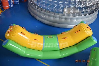 ประเทศจีน Commercial Grade and Durable Inflatable Water Totter With Durable Handles โรงงาน