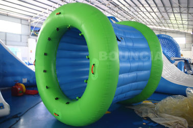 ประเทศจีน 0.9mm PVC Tarpaulin Inflatable Water Walking Roller Ball With Durable Net Structure โรงงาน