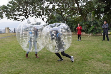 ประเทศจีน 0.7mm TPU Human Bubble Ball / Inflatable Bumper Ball For Outdoor Activity โรงงาน
