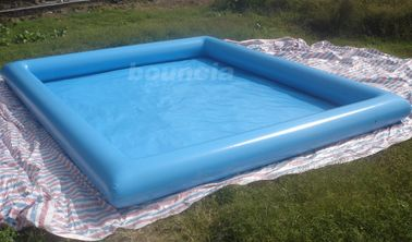 ประเทศจีน 10mL*8mW*0.65mH Outdoor Inflatabel Water Pool With PVC Tarpaulin โรงงาน