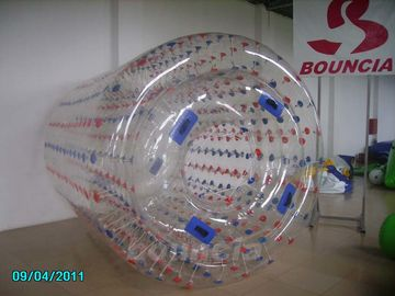 ประเทศจีน Transparent Inflatable Water Walking Roller WR07 Used In Lake / Pool โรงงาน