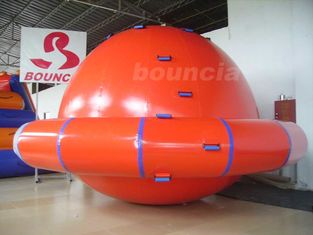 ประเทศจีน Commercial Grade PVC Tarpaulin Inflatable Saturn Rocker For Water Park Games โรงงาน