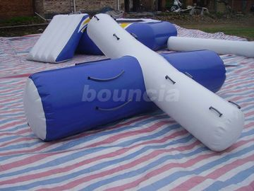 ประเทศจีน 0.9mm PVC Tarpaulin Inflatable Water Totter For Pool โรงงาน