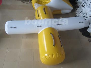 ประเทศจีน 0.9mm PVC Tarpaulin Inflatable Water Totter For Swimming Pool โรงงาน