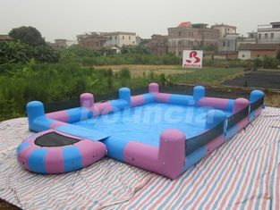 ประเทศจีน Water Walking Ball Inflatable Water Pool With Platform โรงงาน