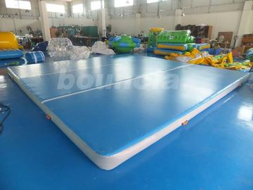 ประเทศจีน Good Airtightness Inflatable Air Tumble Track / Inflatable Gym Mats โรงงาน