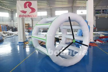 ประเทศจีน 0.9mm PVC Tarpaulin Inflatable Water Roller For Amusement Park โรงงาน
