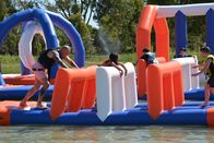 250 People Giant Inflatable Water Park Games, TUV Certificate Inflatable Wipeout Course ผู้ผลิต