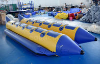 10 Persons Double Tubes Inflatable Banana Boat With Commercial Grade PVC Tarpaulin ผู้ผลิต