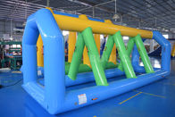 ประเทศจีน Swimming Pool Inflatable Water Games Equipment With Durable PVC Tarpaulin โรงงาน