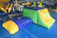 ประเทศจีน 0.9mm Durable PVC Tarpaulin Inflatable Jumping Platform With Blob โรงงาน