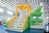 ประเทศจีน 10mL * 9mW * 5.8mH Inflatable Water Sport Inflatable Floating Water Tower For Park โรงงาน
