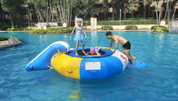 0.7mm Inflatable Water Trampoline Combo With Slide