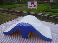 Commercial Grade PVC Tarpaulin Backyard Inflatable Water Totter Slide ผู้ผลิต