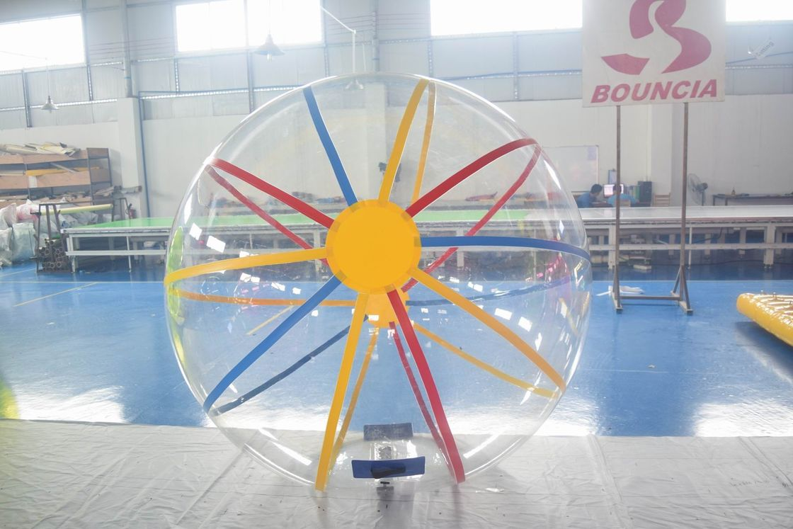 1.6m Diameter TPU & PVC Inflatable Water Ball With CE Certificate ผู้ผลิต
