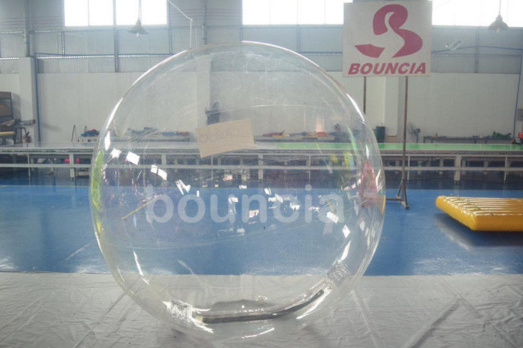 Clear TPU Inflatable Water Walking Ball With Durable Tizip Zipper ผู้ผลิต