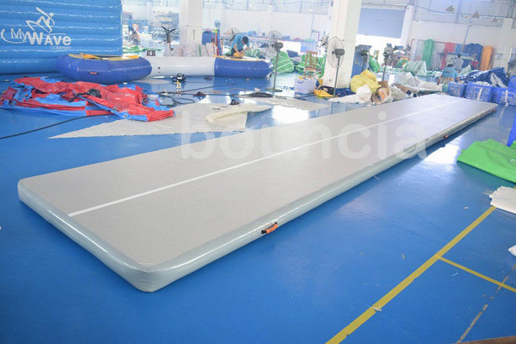 Tumble Track Inflatable Air Mat For Gymnastics With Drop Stich Fabric ผู้ผลิต