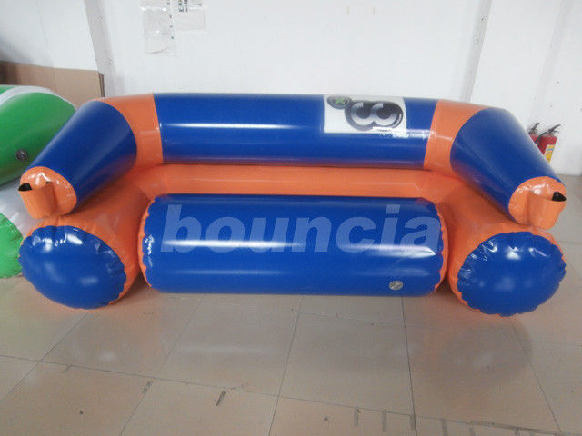 Inflatable Water Sport / Inflatable Floating Sofa For Pool ผู้ผลิต