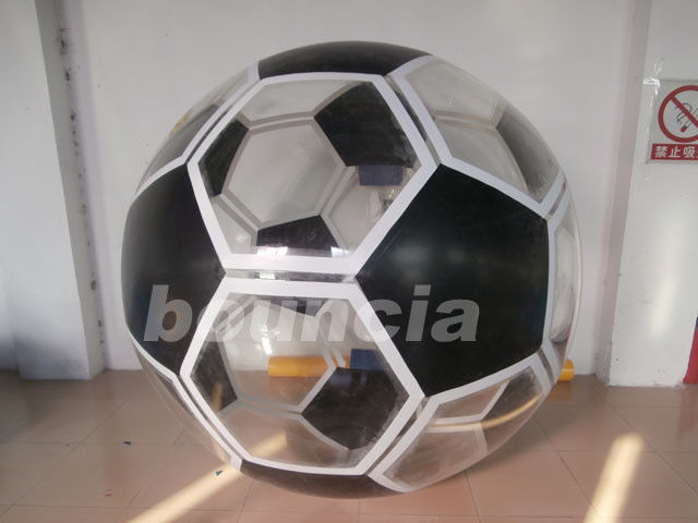 Soccer Shape Inflatable Water Walking Ball Made Of TPU Material ผู้ผลิต