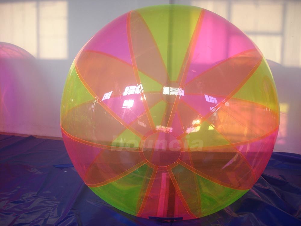 Colorful Inflatable Water Ball , Inflatable Water Bubble For Water Games ผู้ผลิต