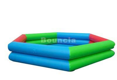 Deep Inflatable Water Pool With Reinforcement  Strips For Water Ball ผู้ผลิต