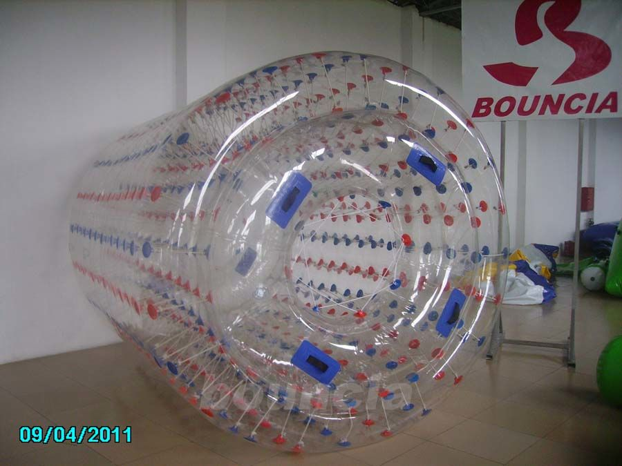 Transparent Inflatable Water Walking Roller WR07 Used In Lake / Pool ผู้ผลิต