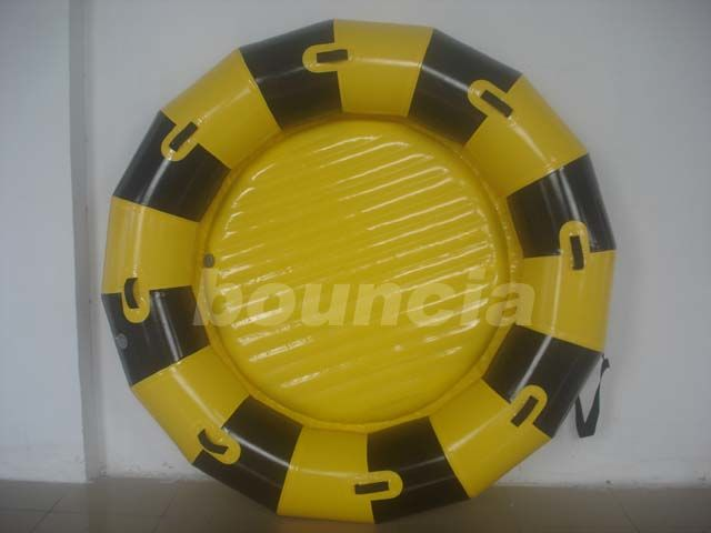 Round Inflatable Towable Banana Boat / Inflatable Towable Boat Used In Lake Or Sea ผู้ผลิต