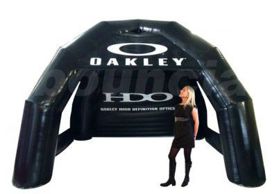 Black Air - Sealed Inflatable Airtight Tent for Advertising