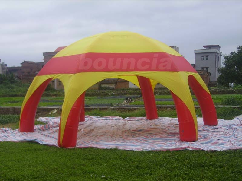 PVC Tarpaulin Inflatable Airtight Dome Tent For Sale