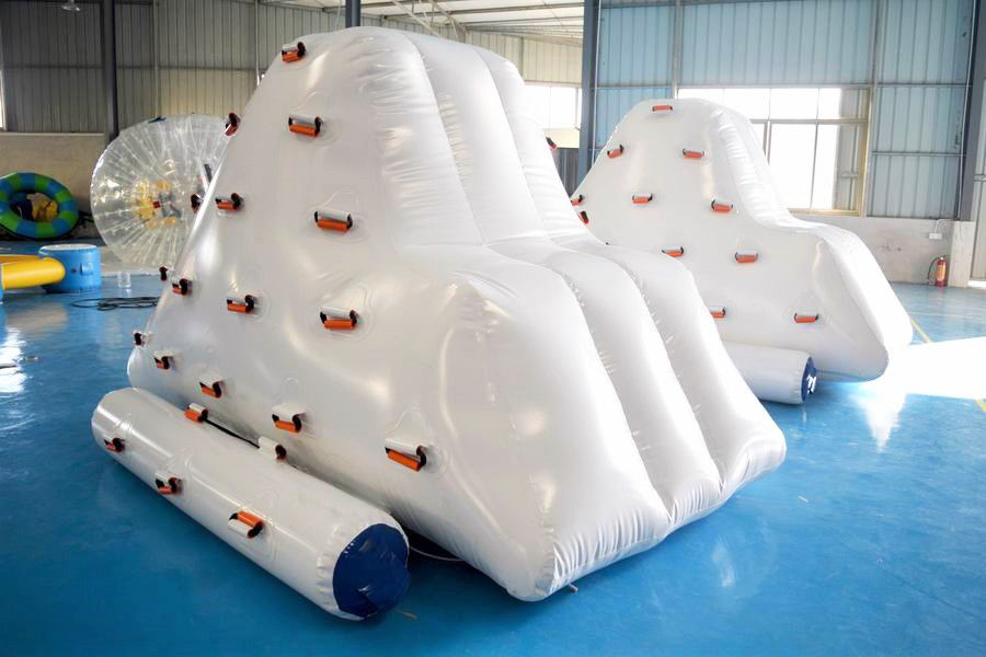 Inflatable Iceberg Climber / Inflatable Iceberg Water Toy For Kids ผู้ผลิต