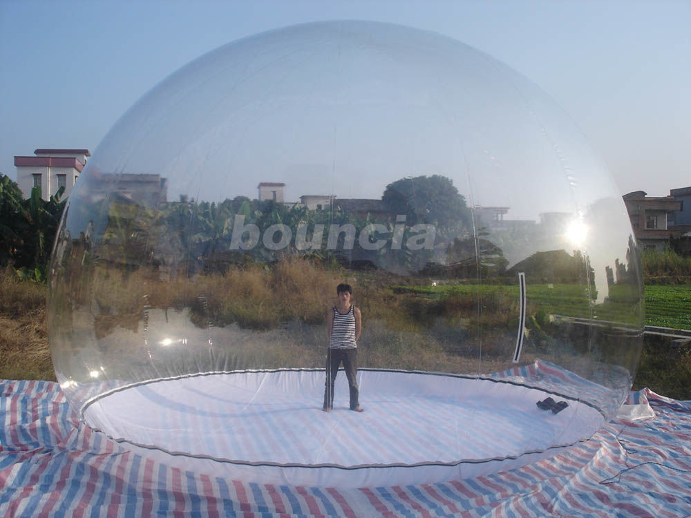 Transparent Inflatable Show Ball With Durable PVC Tarpaulin Base ผู้ผลิต
