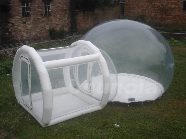 0.5mm TPU Inflatable Show Ball With 0.6mm PVC Tarpaulin Base And Tunnel ผู้ผลิต