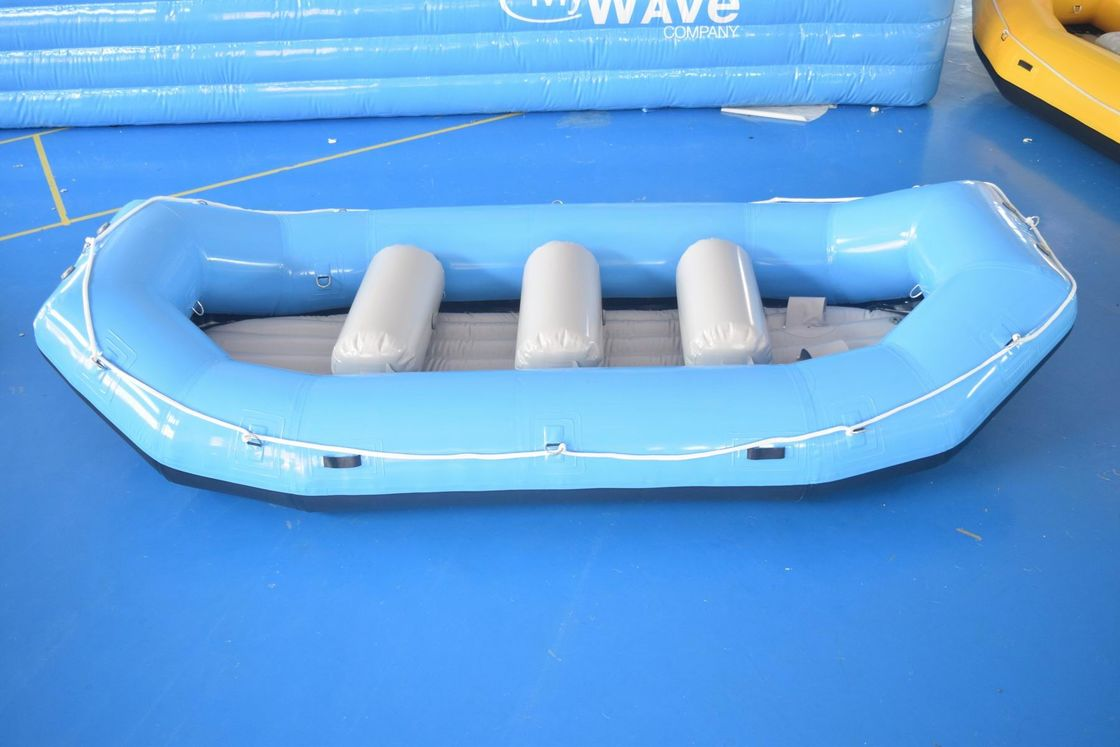 Inflatable Rafting Boat / Whitewater Raft For Adventure Games