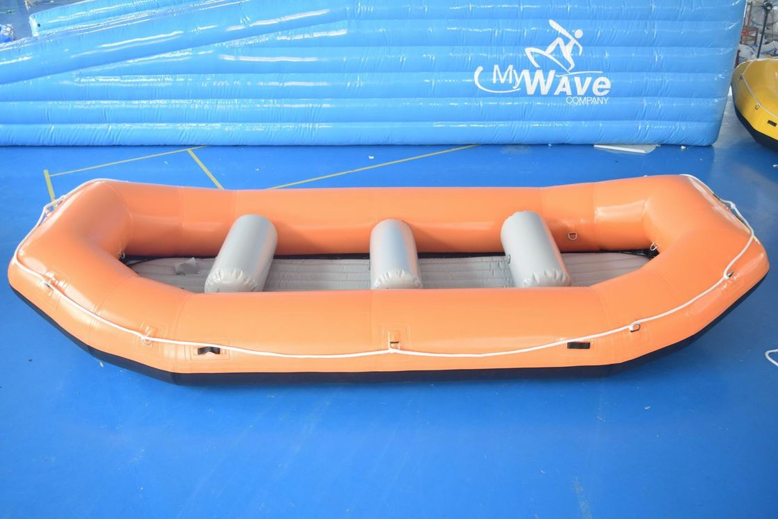 6 Persons Inflatable River Rafting Boat, Outdoor Inflatable Raft Boat