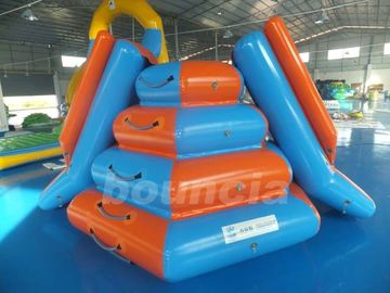 Climbing Inflatable Water Slides For Seaside Or Swimming Pool