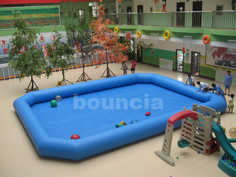 Indoor Inflatable Water Pool For Paddle Boat Used in Entertainment Center